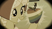 Granny Smith holding up a Zap Apple S2E12.png