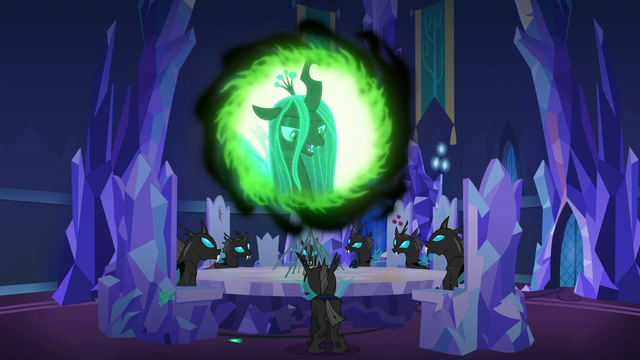 """File:Queen Chrysalis """"much better"""" S6E25.png"""