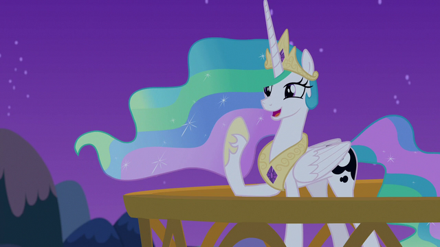 "File:Celestia ""I can talk to ponies in their dreams!"" S7E10.png"
