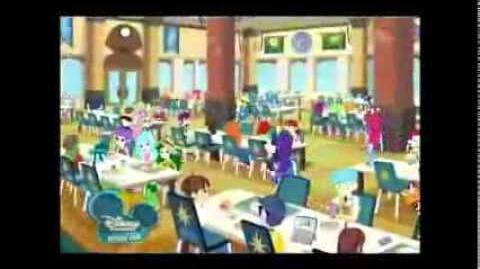Equestria Girls - Cafeteria Song Turkish TVRip by Marble Starry