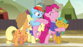 Ponyville buckball team celebrate their victory S6E18.png