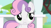 Sweetie Belle worried S4E05