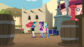 Twilight and Rainbow Dash talking with Juniper EGS2.png