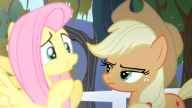 Fluttershy 'Now wait just a minute' S4E07.png