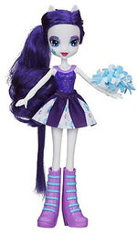 Rarity Equestria Girls pep rally doll