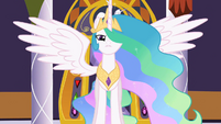 Celestia needs help to defeat Discord S2E1