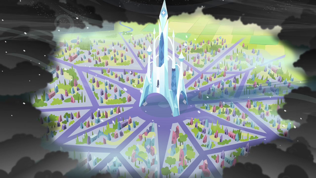 File:Crystal Empire surrounded by King Sombra S3E2.png