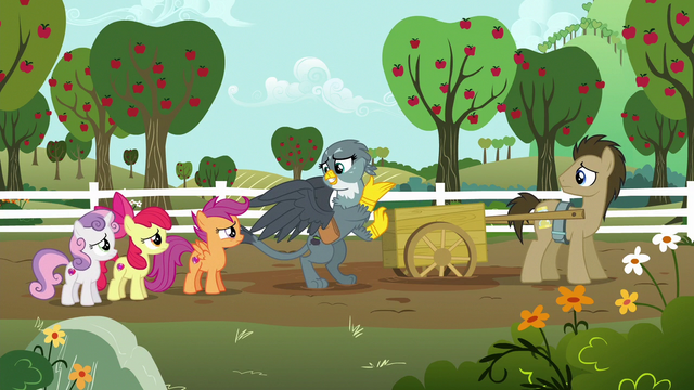 """File:Gabby """"I just stopped to help this pony"""" S6E19.png"""
