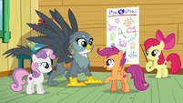 "Scootaloo ""nopony gets a mark without one"" S6E19"