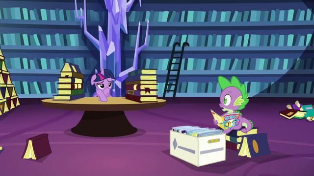 """File:Spike """"but you're reading"""" S5E16.png"""