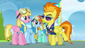 Spitfire telling pink pegasus to go first S3E7.png