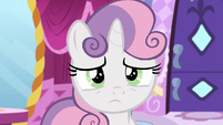 Sweetie Belle has a bad feeling about this S6E14