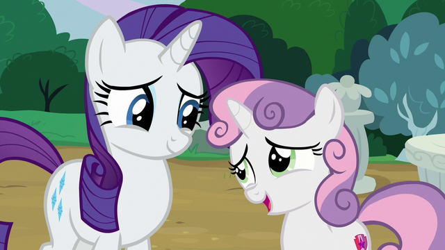 File:Sweetie Belle proud to be Rarity's sister S7E6.png