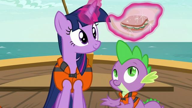 File:Twilight unwraps a cucumber sandwich S6E22.png