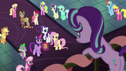 Twilight welcoming Starlight to the party S6E8
