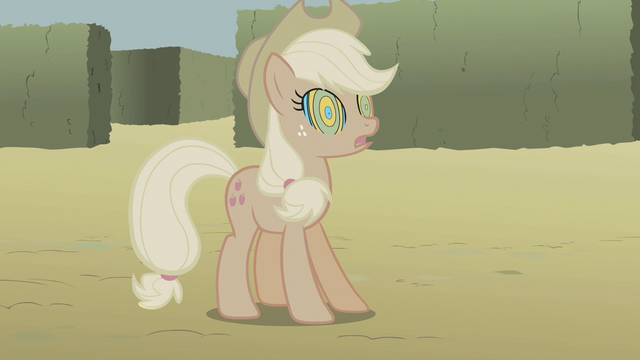 File:Applejack's colors completely dulled S2E01.png