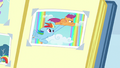 Photo of Rainbow and Scootaloo in scrapbook S7E7.png