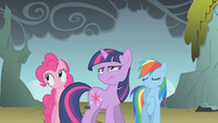 "Rainbow Dash ""so much for persuading him"" S1E07"
