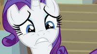 Rarity panicked S4E19