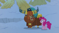 "Prince Rutherford ""yak retire to new sleeping hut"" S7E11"