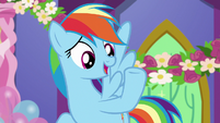"Rainbow ""when has Twilight not had a plan?"" S7E1"