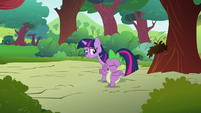 Twilight and yawning Spike S03E13