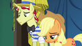 Applejack and Flim feeling like failures S6E20.png