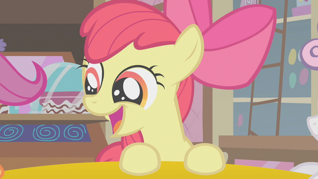File:Apple Bloom talking to her new friends S1E12.png
