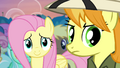 Fluttershy touched by Rainbow's words S4E22.png
