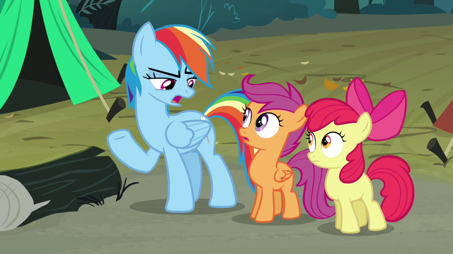File:Rainbow Dash 'Can you get us' S3E06.png
