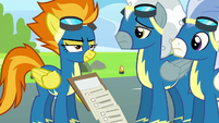 Spitfire drops Rainbow's checklists S6E7