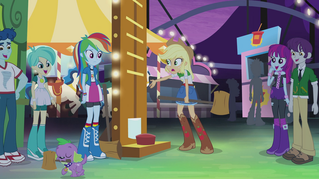 "File:Applejack ""did I just come in last?"" EG2.png"