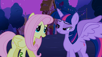Fluttershy 'Wow, you look just like a princess!' S3E13