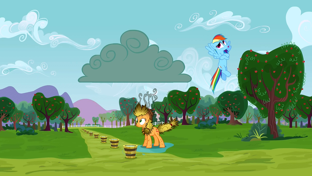 File:Rainbow Dash whistling innocently S3E8.png