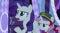 "Rarity ""certainly no call for that"" S6E15"