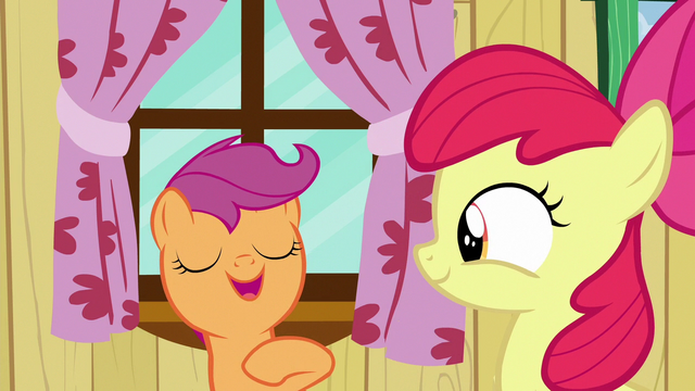 "File:Scootaloo ""we are kinda awesome and all"" S6E19.png"