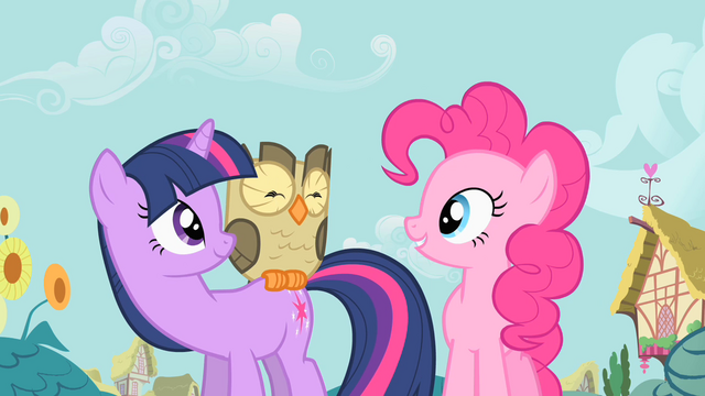 File:Pinkie Pie is enamored with Owlowiscious S1E24.png
