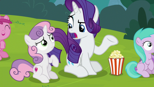 "File:Rarity ""since when?"" S7E6.png"