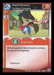 Sheriff Silverstar, Confident Constable card MLP CCG
