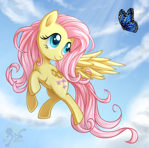 File:FANMADE Butterfly Fluttershy.png