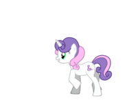 FANMADE Sweetie Belle as an adult