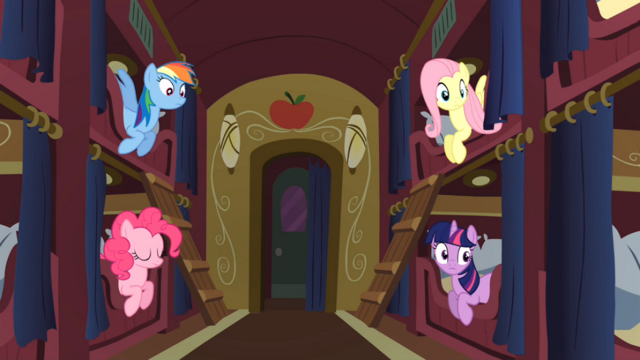 File:Ponies look at Spike S01E21.png