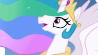 Princess Celestia gasping S1E16