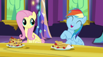 "Rainbow Dash ""hanging out with me is awesome"" S5E3"