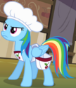 Rainbow Dash cherry sorter ID S2E14