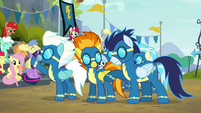 Soarin tapping on Spitfire S6E7