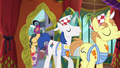 Interior decorator ponies entering S6E12.png
