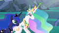 Princess Celestia freed from her cocoon cage S6E26.png