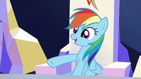 "Rainbow Dash ""you are a totally different pony"" S6E25"