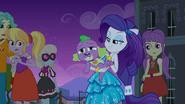 Rarity thinks Spike is adorable EG